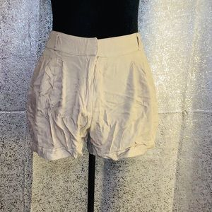 Forever 21 Essentials Linen Shorts Size Large